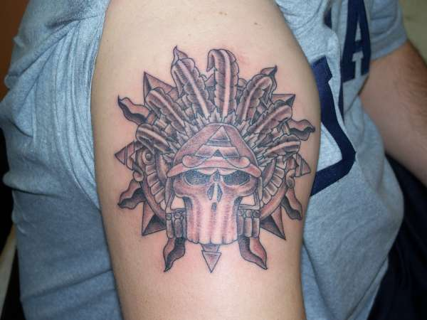 aztec tattoo art