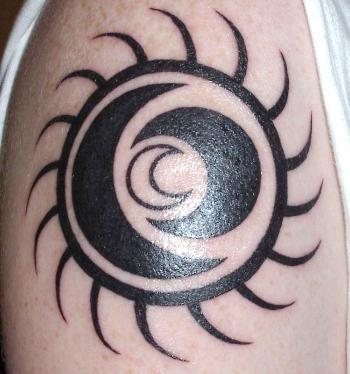 That's why today, an Aztec sun tattoo symbolizes belief in an afterlife.