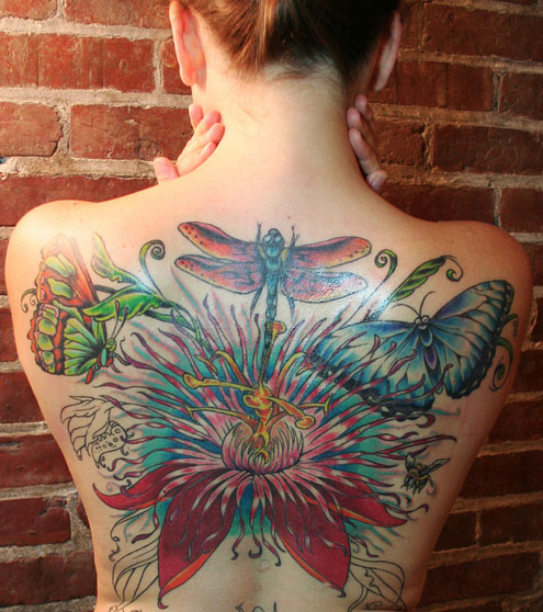 Butterfly tattoo art. See colorful butterfly tattoo examples