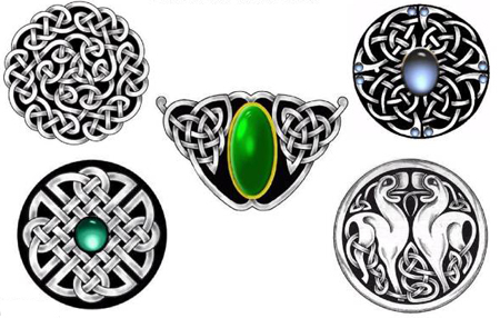 Wild Sun Temporary Tattoo (Set of 3) Celtic Tattoo Flash Free,
