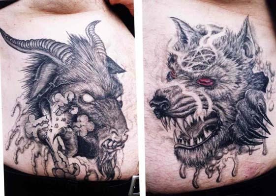 dark tattoo art tribal tattoos design. Black Bedroom Furniture Sets. Home Design Ideas