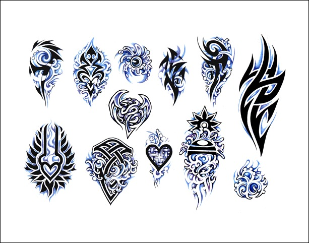 Free Flash Tattoo Designs | Tribal Tattoos Design