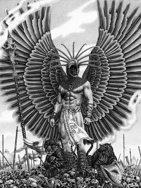 Aztec Warrior Tattoo
