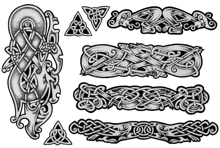 Celtic Cross Tattoos. Design 4. Celtic Crosses