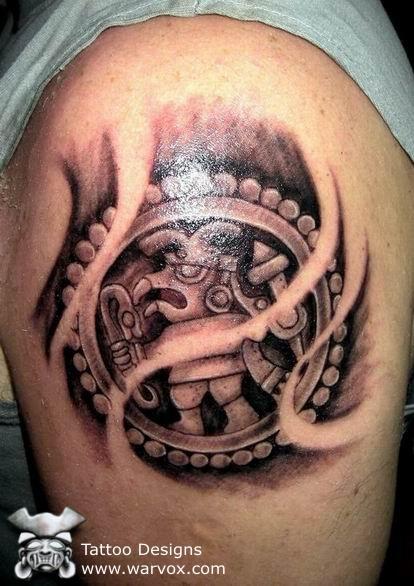 aztec tribal tattoos tribal tattoos design. Black Bedroom Furniture Sets. Home Design Ideas