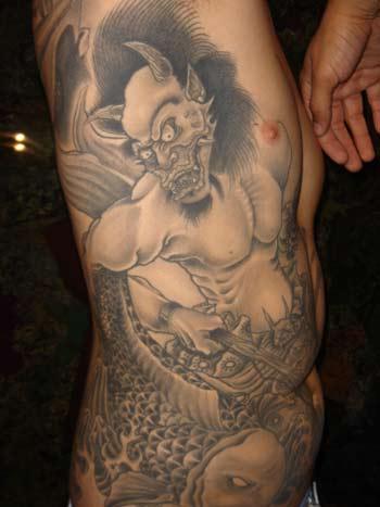 demon tattoo art