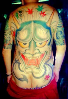 devil tattoo art