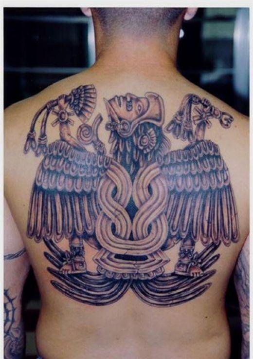 Aztec tattoo art tribal tattoos design for Mexican heritage tattoos