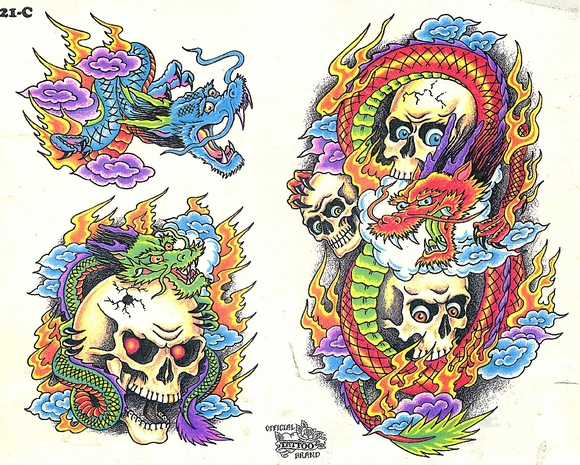 Tattoo flash designs images hands