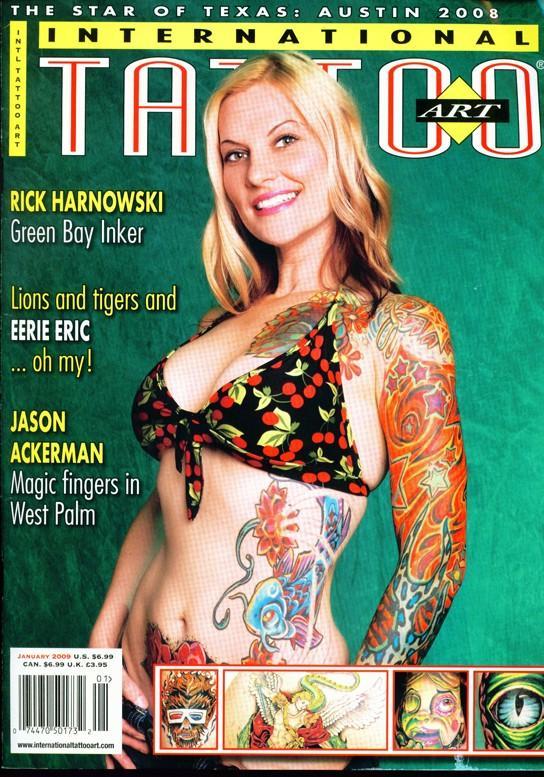 international tattoo art cover