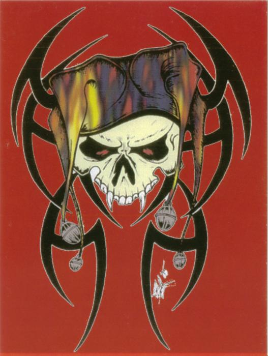 joker tribal tattoos