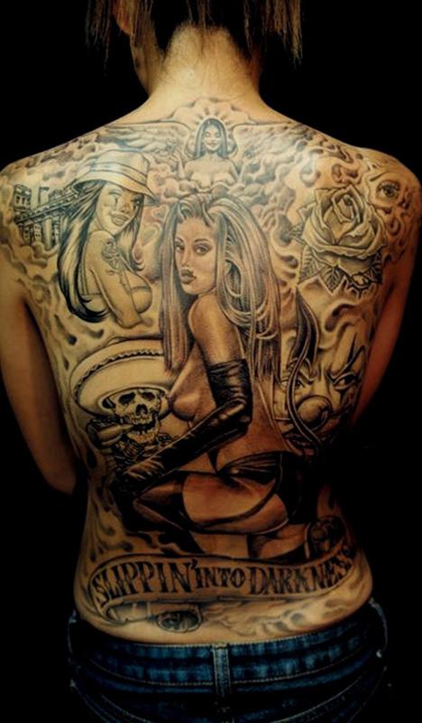 mexican art tattoo | Tribal Tattoos Design
