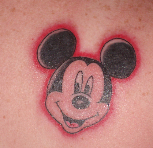mickey mouse tattoo art tribal tattoos design. Black Bedroom Furniture Sets. Home Design Ideas