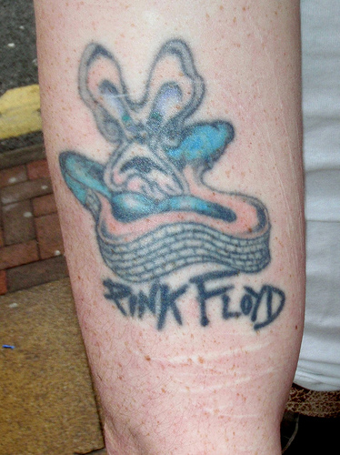 Pink floyd tattoo art tribal tattoos design for Pink floyd tattoo