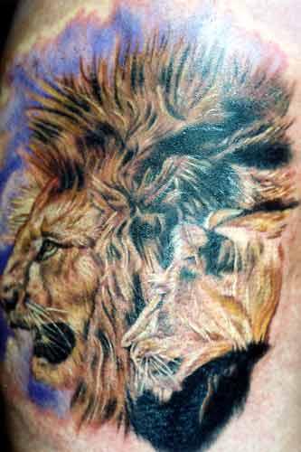 tattoo art of animals
