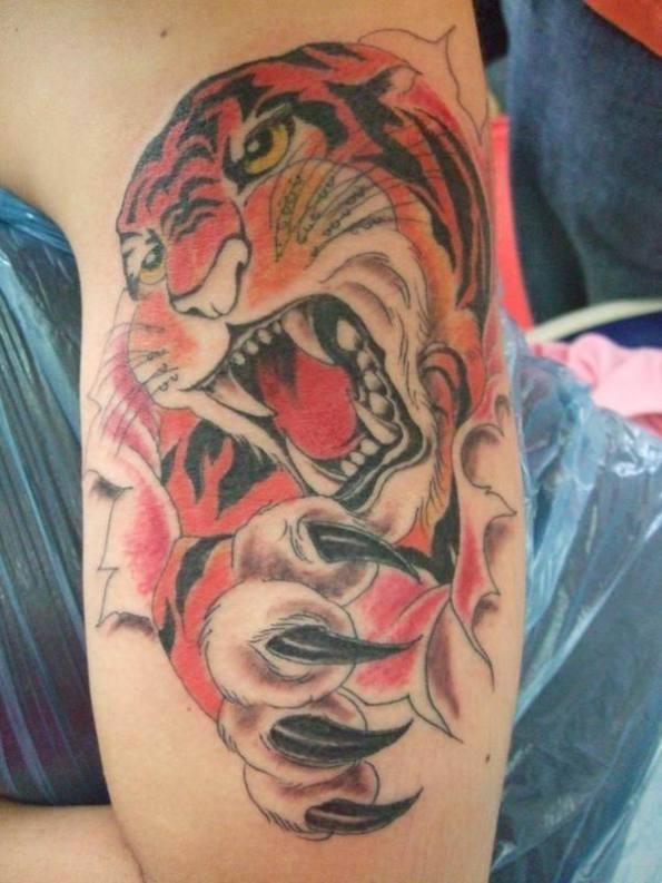 tiger tattoo art