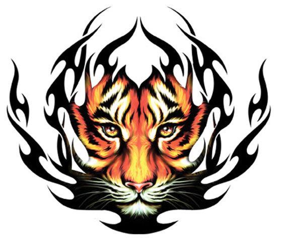 tiger tribal tattoo designs