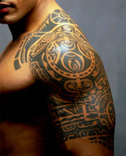 tribal + maori tattoo designs
