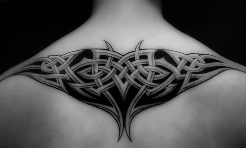 More than 300 free upper back tribal tattoo designs you can choose from.