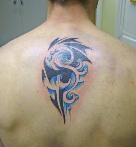 Tribal tattoos design tribal tattoos designs photos for Back tribal tattoo